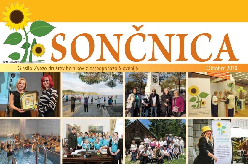 Revija soncnica oktober 2020 - naslovnica
